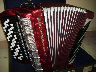 Verkaufe Knopfakkordeon Weltmeister Grandina Bsse Griff
